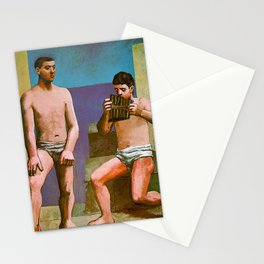 Picasso - The pipes of pan Stationery Cards