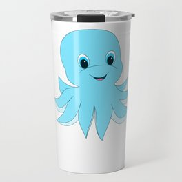 Cute Baby Octopus Travel Mug