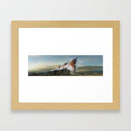 Valley of the Harp Seal Framed Art Print