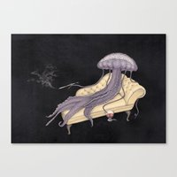 medusa Canvas Prints featuring Medusa by Matthias Seifarth