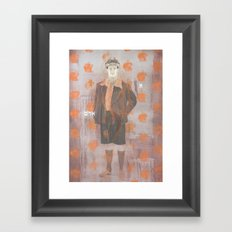 Adam Framed Art Print