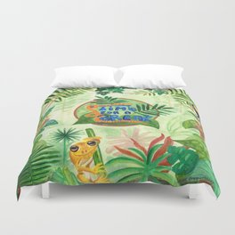 Medilludesign Ecotherapy Jungle Duvet Cover