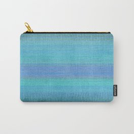 Woven Wonders Blue Carry-All Pouch