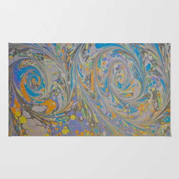 Marble Print #16 Rug