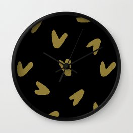 pattern no. 8 / b. or h. Wall Clock