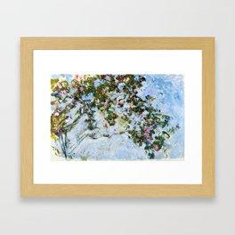 """Claude Monet """"The Rose Bush"""" Framed Art Print"""