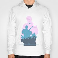gta Hoodies featuring GTA V - MICHAEL DE SANTA by ahutchabove