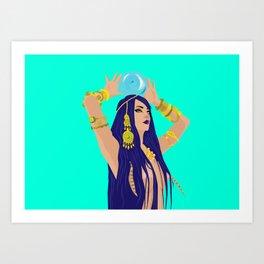 La Diseuse De Bonne Aventure Art Print
