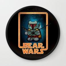 Bear Wars - Bobba Furry Wall Clock