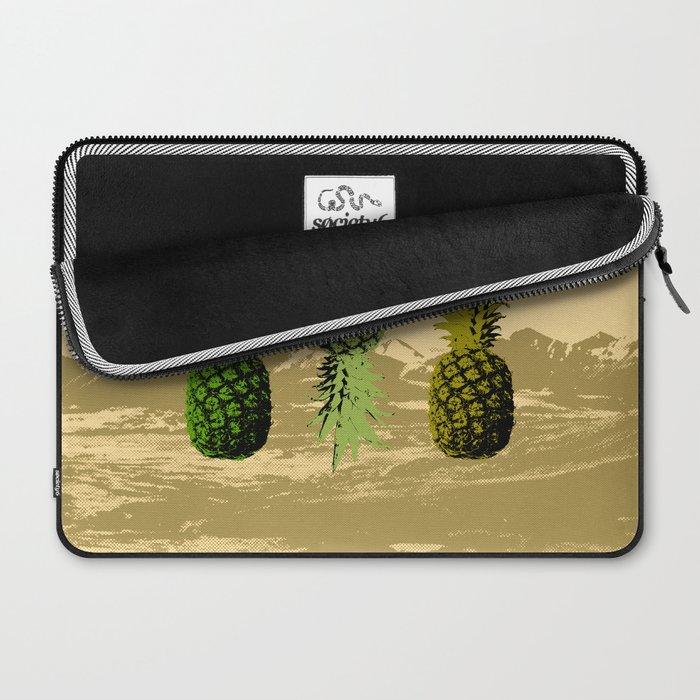 Pineapple Mountain Laptop Sleeve