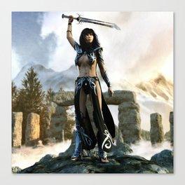 Raise Of Celts Canvas Print