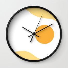 #2 Egg Wall Clock