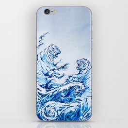 The Crashing Waves iPhone Skin