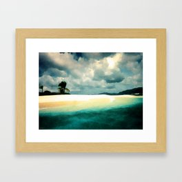 Sandy Cay Framed Art Print