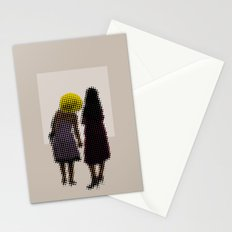 She tried, but all she could see was the missing picture Stationery Cards