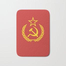 Communist Cold War Flag Bath Mat