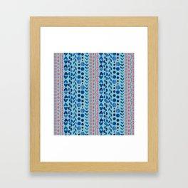 Watercolour Shapes - Magic Villa Framed Art Print
