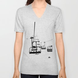 Winter Fog Unisex V-Neck