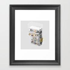 Toronto/Damascus 1/2 Framed Art Print
