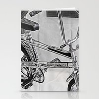 70s Stationery Cards featuring 70s Iconic Bike Uk by Paul & Fe Photography