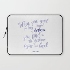 A court of mist and fury (purple) Laptop Sleeve