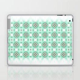 Kat Scratch Starburst Pattern • Mint & Taupe Laptop & iPad Skin
