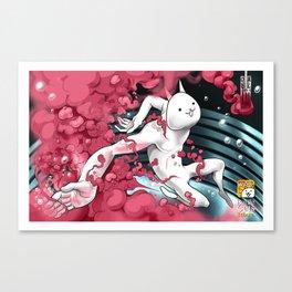 Battle Cats Tribute Canvas Print