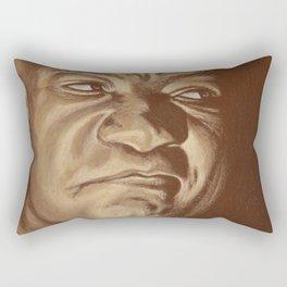 round 6...george foreman Rectangular Pillow