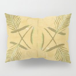 Full Peacock Feathers Pillow Sham