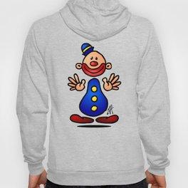 Cheerful circus clown Hoody