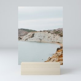 scala dei turchi Mini Art Print