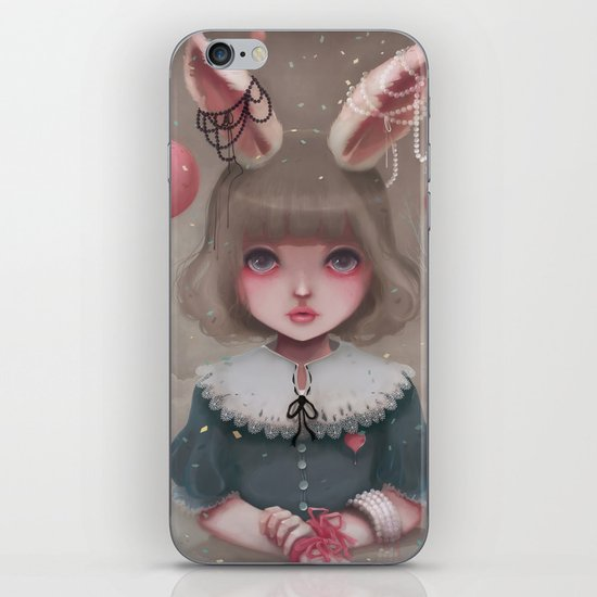 Juliette, balloons & pearls... iPhone & iPod Skin