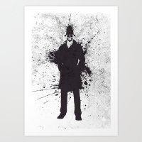 watchmen Art Prints featuring WATCHMEN - RORSCHACH by Zorio