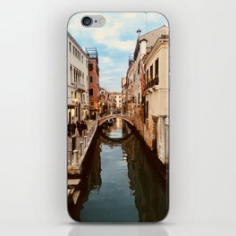 Canals of Venice III iPhone Skin