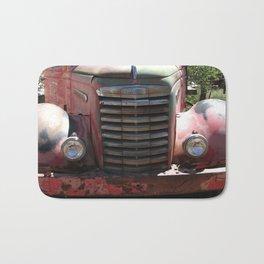 GMC, GMC Truck Grill, Old Truck Bath Mat