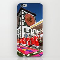 religious iPhone & iPod Skins featuring Religious festival by Gaspar Avila