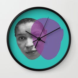 Ntozake Shange Wall Clock