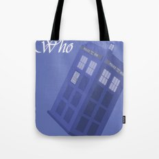 The Doctor is coming Tote Bag