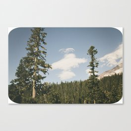 Angel Cloud Canvas Print