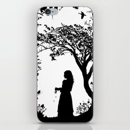 The Tale of the Juniper Tree iPhone Skin