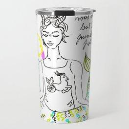 Capricorn Yoga Travel Mug