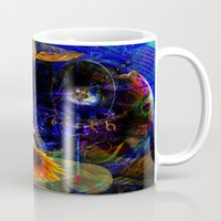 pocket fuel Mugs featuring Fuel by Joseph Mosley