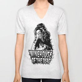 Winehouse of the dead Unisex V-Neck