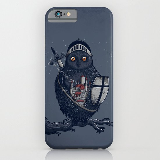 Night Watchman iPhone & iPod Case
