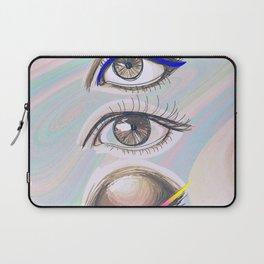 three eyes Laptop Sleeve