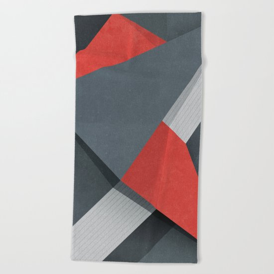 Projections Beach Towel