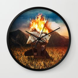 News Of Yesterday Wall Clock