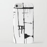 stripe iPhone & iPod Cases featuring Stripe by LilianaPerez