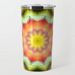 Prismatic Eye Mandala Travel Mug
