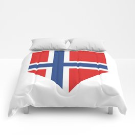 Norway flag Comforters